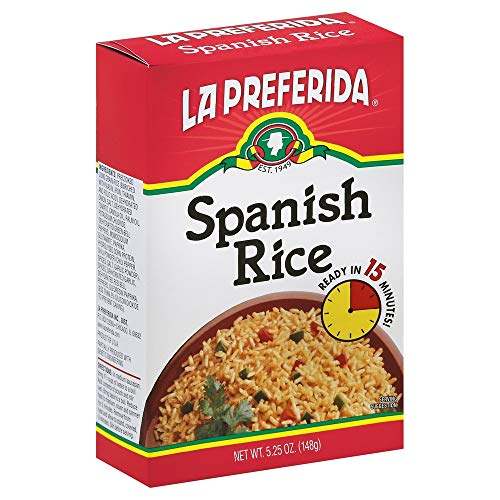 La Preferida Spanish Rice in a Box, 5.25 oz, (Pack - 9)