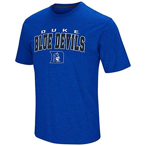Colosseum Men's NCAA-Fun Run T-Shirt-Duke Blue Devils-Blue-XL