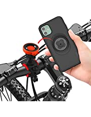 Bike Phone Mount Holder with Shockproof iPhone 11 Case Built Ultra-Lock 360 Rotatable Quick Mount Phone Holder for Bike Mountain Bike Road Bicycle MTB Cycling Handlebars