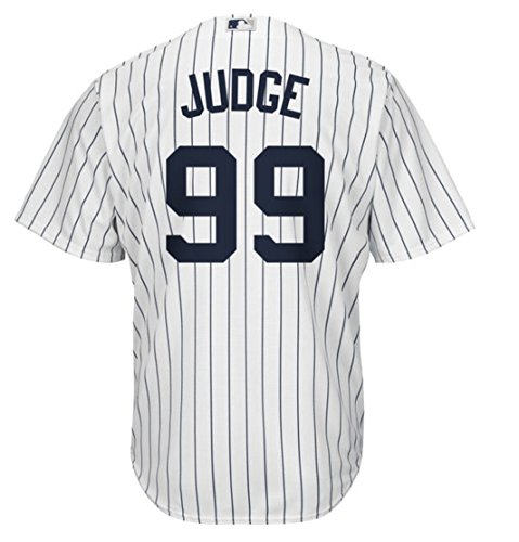 (Aaron Judge New York Yankees Majestic Home Replica Cool Base Player Jersey (X-Large))