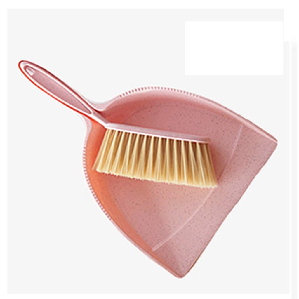Hzpxsb Mini Whisk Broom And Dustpan Set,Compute Brush Keyboard Desktop Cleaning Small Broom,Great For Cleaning Compact Spaces - Cars, Offices, Bathrooms, Kitchen Counters, Drawers, And More! (beige)