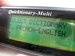 Wizcom Quicktionary Multy English-French, English-German, French-German Scanner and Translator