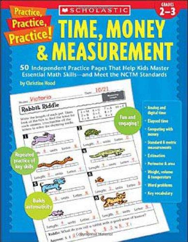 Amazon.com: Time, Money & Measurement: 50 Independent Practice ...