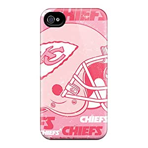 Durable Hard Phone Cover For Iphone 6 (oPz8076trKP) Allow Personal Design Colorful Kansas City Chiefs Pattern