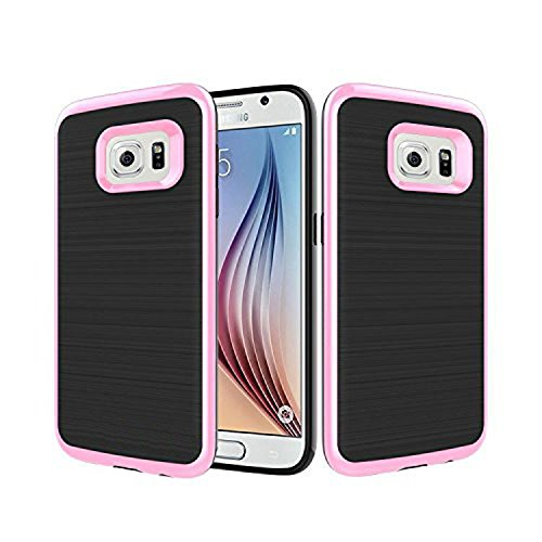 Samsung Galaxy Note 5 Case, [Dual Layer: Thin Armor TPU Interior Silicone + Heavy Duty Solid PC Back] Scratch Resistant Brushed Surface (Flip Case Note Spigen 4)