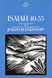 Isaiah 40-55: A New Translation with Introduction and Commentary (Anchor Yale Bible Commentaries)