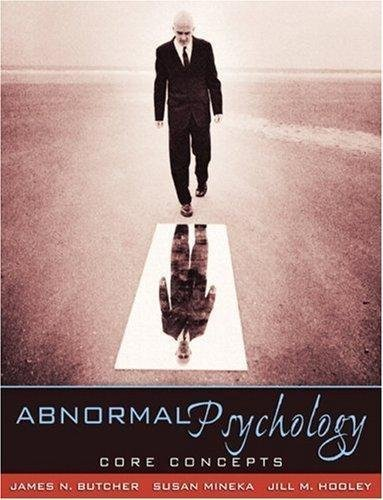 Abnormal Psychology: Core Concepts, Books a la Carte Plus MyPsychLab