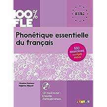 Phonétique essentielle du français niv. B1/B2 livre +cd