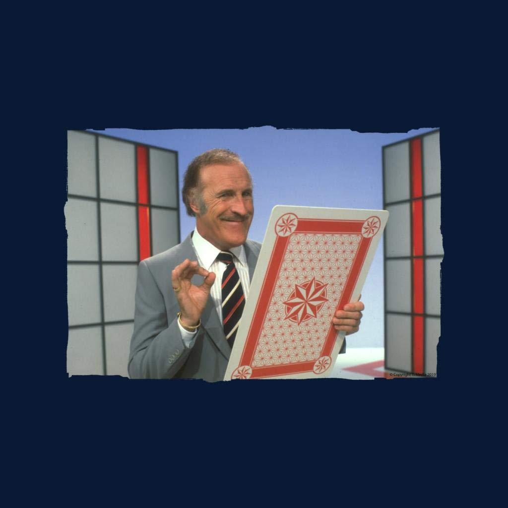 TV Times Bruce Forsyth On Game Show Play Your Cards Right Mens Vest
