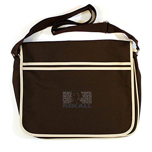 Arcane Store - Cotton Shoulder Bag Brown Mens