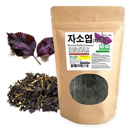 [Medicinal Korean Herb] Perilla Frutescens (Perillae Folium/Zisuye / 자소엽) Dried Loose leaves 3oz (86g)
