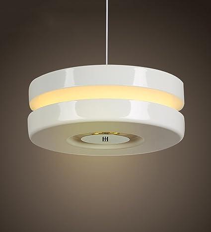 ZHANWEI Lámpara colgante dobles lámparas de hierro ...