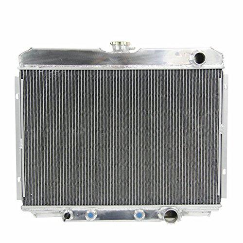 - ALLOYWORKS 3 Row Aluminum Radiator For Ford Mustang/Mercury Cougar XR-7 V8 1967-1970