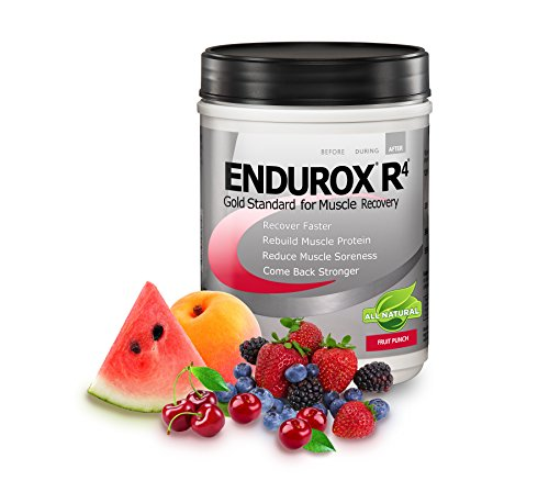 R4 Recovery - Pacific Health  Endurox R4, Fruit Punch, 14 serving Net WT 2.29 LBS (1.04 KG )