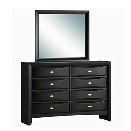 Amazon.com: Thaweesuk Shop Dresser Chest 8 Drawers Mirror ...