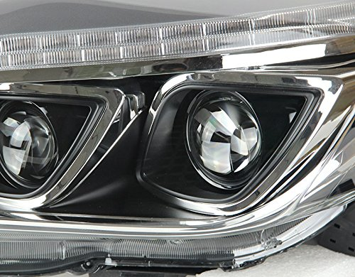 GOWE Car Styling 2014-2015 For toyota prado xenon headlights car styling bi xenon lens for prado LED DRL head lamps xenon H7 l Color Temperature:4300k;Wattage:35w 4