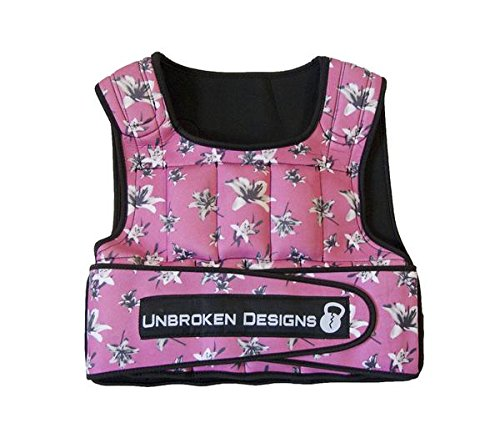 Adjustable Weighted Vest for Fitness Workouts for Men/Women - Adjustable, Light Weight...