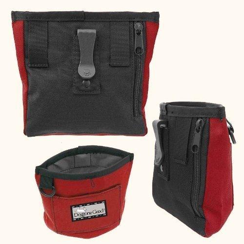 Doggone Good Trek & Train Bait Bag with Belt from Professional Quality (Black)