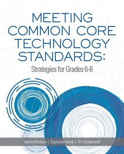 Meeting Common Core Technology Standards  Strategies For Grades 6 8
