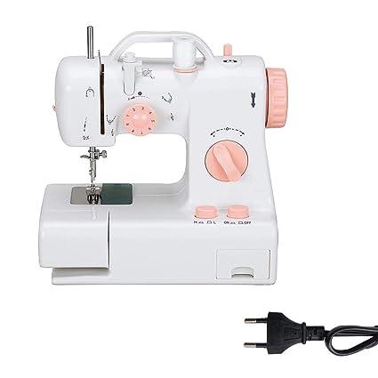 PEALO Máquina de Coser, Mini máquina de Coser eléctrica para el hogar Máquina de Coser