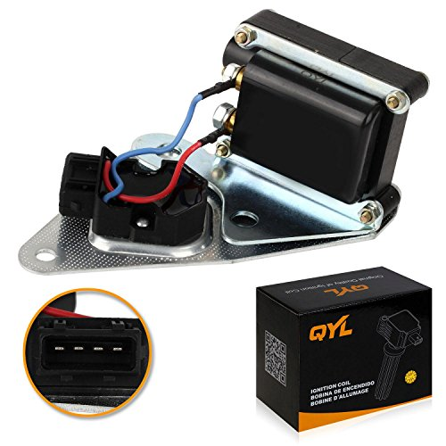 QYL Ignition Coil Pack Replacement for Volvo 850 C70 S70 V70 L5 2.3L 2.4L UF142 12751749 1367777