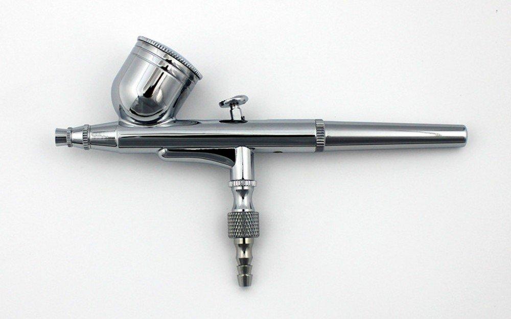 GotHobby 0.3mm Gravity Feed Dual-Action Airbrush Paint Spray Gun Kit Set by GotHobby