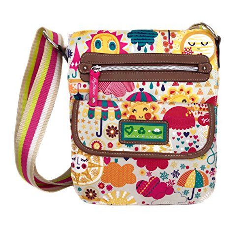 Lily Bloom Crossbody Bag, Eco Friendly, Spring Showers