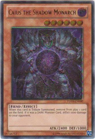Yu-Gi-Oh! - Caius the Shadow Monarch (TU03-EN000)