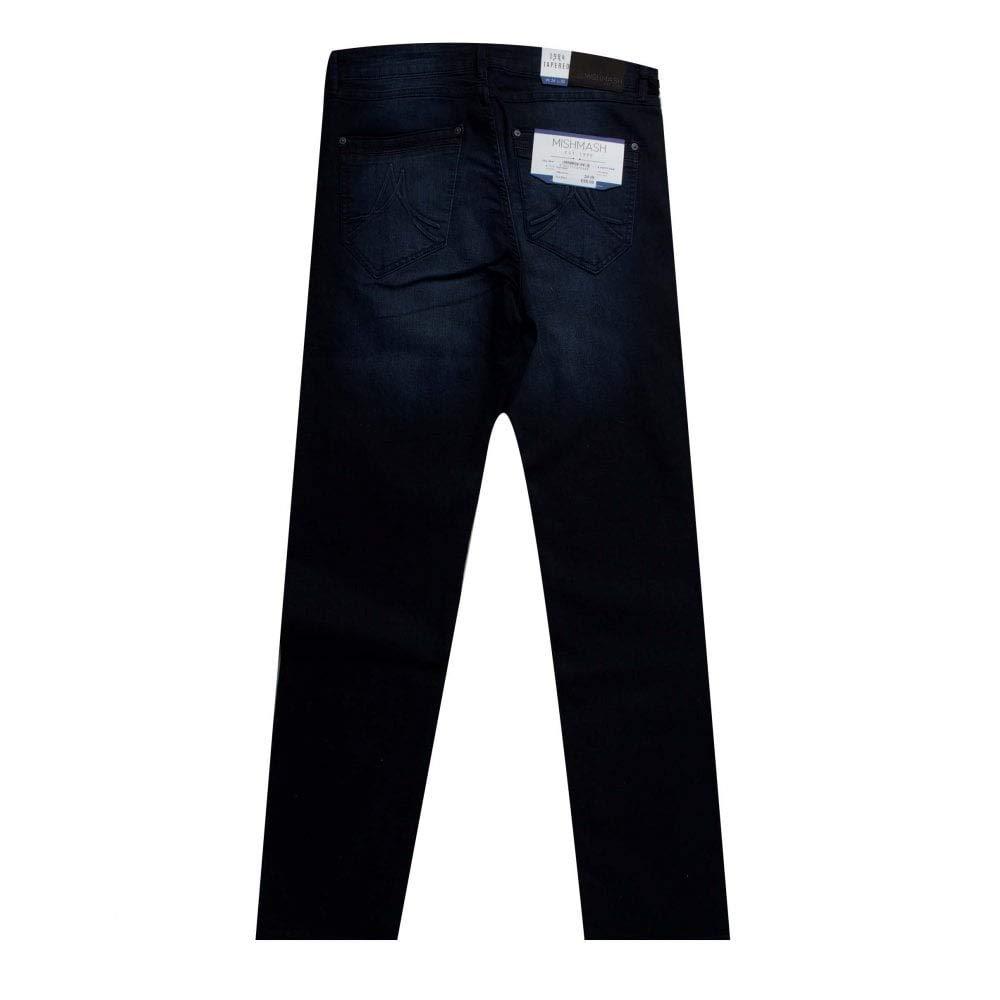 Mish Mash Jeans 1984 Harley Blue//Black Jeans Denim