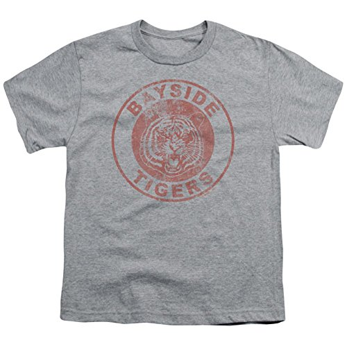 Youth: Saved By The Bell-Bayside Tigers Kids T-Shirt Size YM