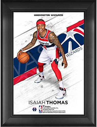 Isaiah Thomas Washington Wizards Framed 5