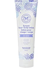 The Honest Company Face and body lotion with dreamy lavender scent, 8.5 oz