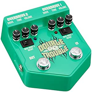 Visual Sound Double Trouble V2 Dual Overdrive Pedal