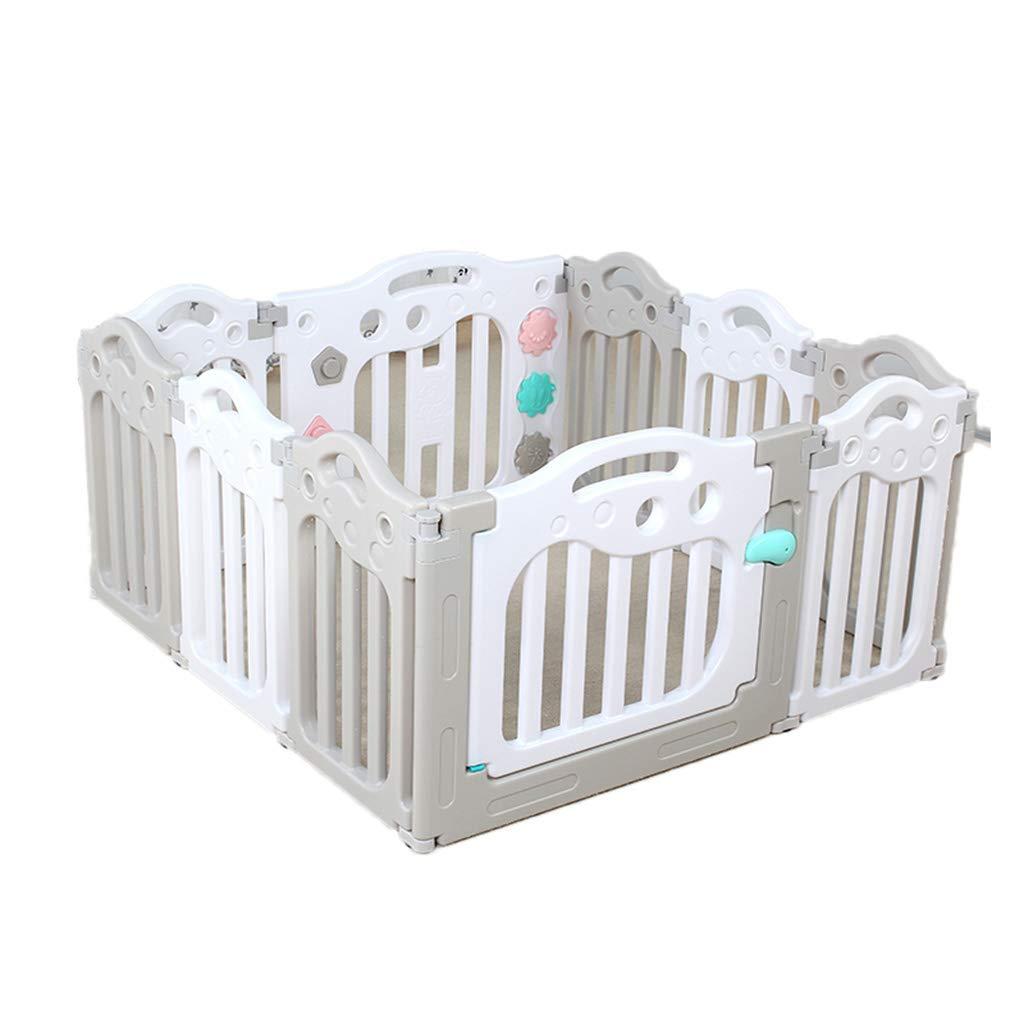 屋内オーシャンボールプール、ベビーパズル玩具ルーム家庭子供のクロールステップバー安全保護フェンス隔離フェンス40-74CM (色 : B) B07H6WVLKZ B