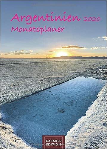 Télécharger livre Argentinien Monatsplaner 2020 30x42cm pdf gratuit