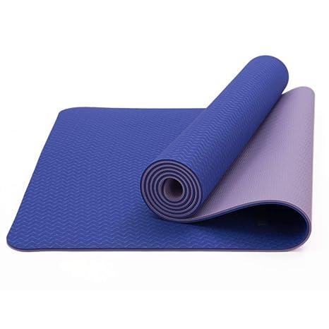 Tapete de Yoga - TPE Antideslizante para Principiantes ...