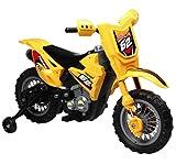 Vroom Rider VR098 6V Battery Operated Dirt Bike, Yellow