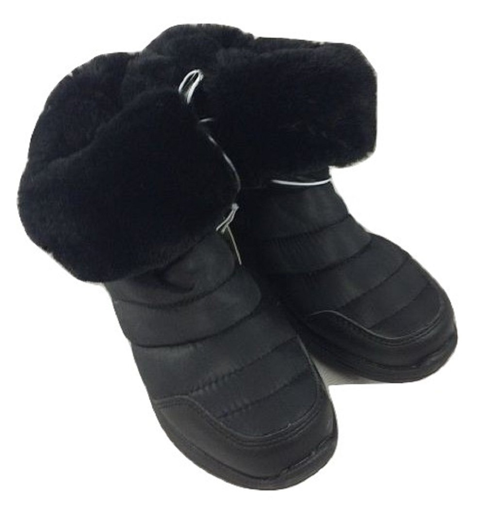 Piper Girls Katrina Black Winter Ankle Boot Youth Size 13M