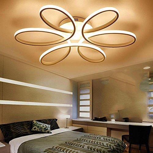 Lampara De Techo Led Para Iluminacion Calida Romantica Y Moderna De - Lmparas-dormitorio