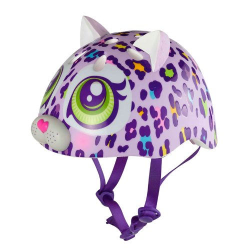 Raskullz Color Cat Helmet, Purple (Helmet Colour)