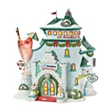 Department 56 North Pole Village Ice Breakers Lounge Lit House