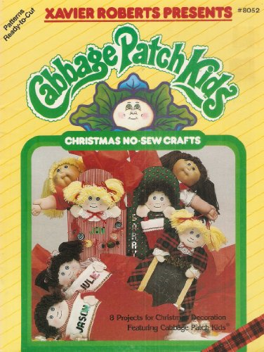 - Cabbage Patch Kids Christmas No - Sew Crafts #8052 (Patterns Ready-to-Cut)