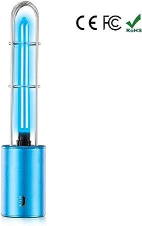 Luz UV Esterilizador Portátil, Lámparas De Desinfección Germicida ...