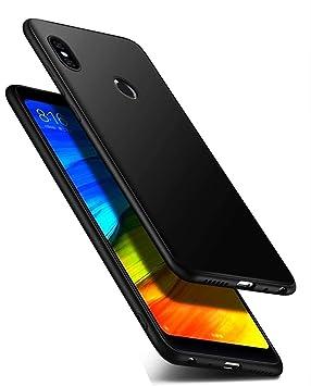 LAYJOY Funda Xiaomi Redmi Note 5, Carcasa Ligera Silicona Suave TPU Flexible Bumper Case Cubierta de Protectora Antideslizante Anti-Golpes y ...