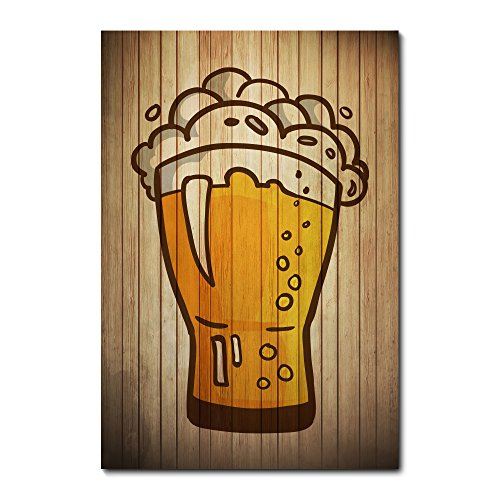 Placa Decorativa - Beer - Cerveja - 1700plmk