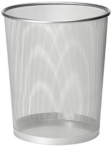 Beau Zuvo Metal Wire Mesh Waste Basket Garbage Trash Can For Office Home Bedroom  Height 10.1u0026quot;