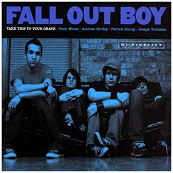 Image result for fall out boy take this to your grave