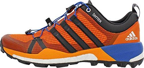Adidas Mens Esterni Terrex Skychaser Scarpa Eqt Arancio, Nero, Arancione