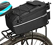 Lixada Bike Rear Pannier Bag,Insulated Trunk Cooler Bags Cycling Bicycle Rear Rack Waterproof Storage Luggage