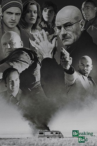 Breaking Bad Up In Smoke Poster